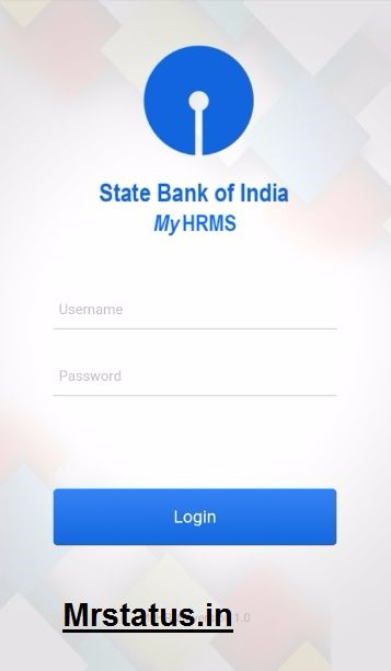 Sbi Hrms Mobile login